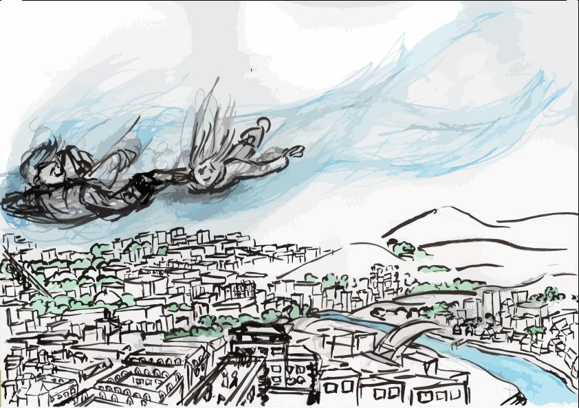 A vol d'oiseau -brouillon 256 - HG